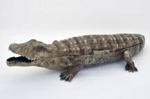Encrier crocodile