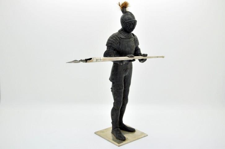 Encrier armure de chevalier