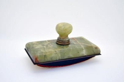 Tampon buvard en marbre onyx