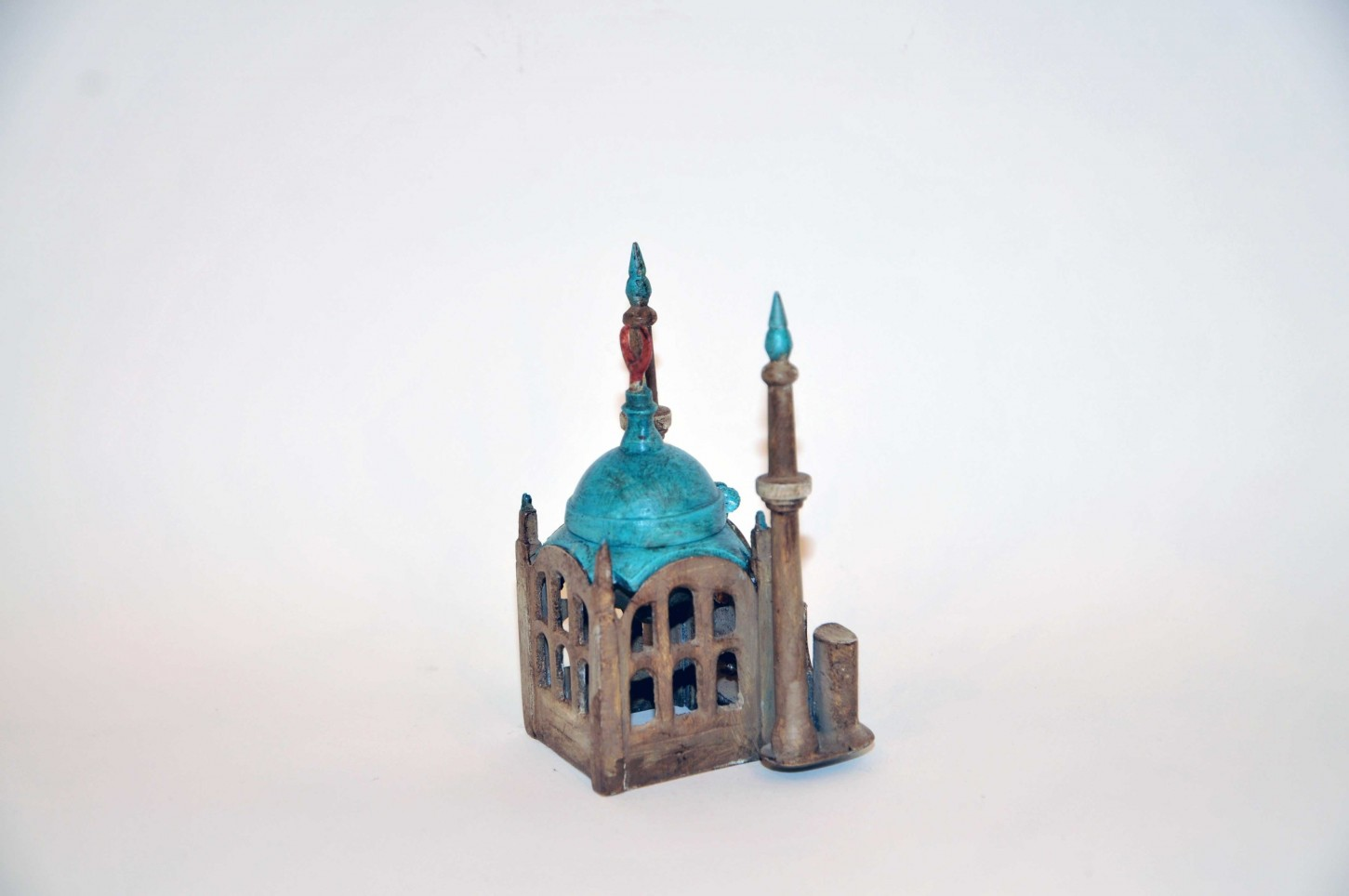 Encrier en forme de mosquee