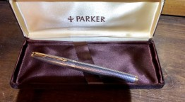 Parker 75 en argent massif 1970/80
