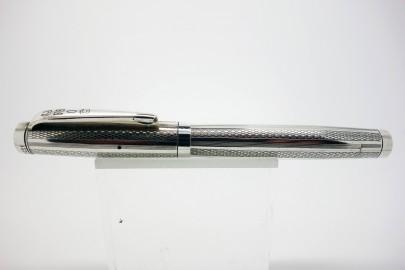 Fountain pen Unic pump 1950 in silver